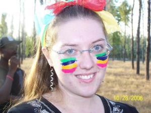 Tanya at Camp :)