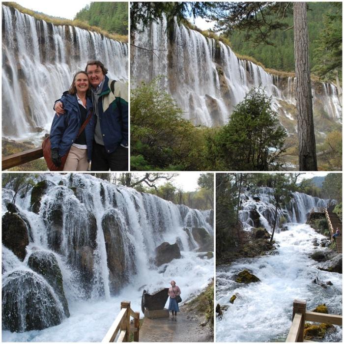 Waterfalls (Nuorilang at the top, Shuzheng Falls at the bottom)