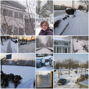 Snow in Langfang