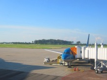 Wattay International Airport at Vientiane, Laos