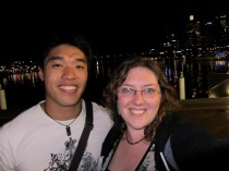 Nathaniel and Tanya at Darling Harbour