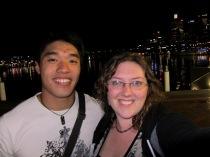 Nathaniel and Tanya at Darling Harbour
