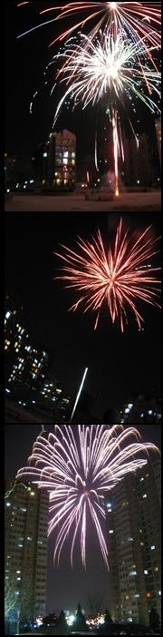 Fireworks on CNY 2008.