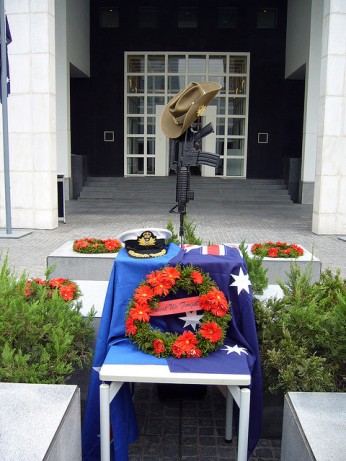 ANZAC Day 2006 at the Australian Embassy in Beijing