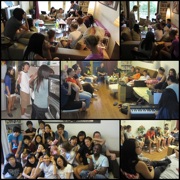 Youth group gatherings at Yinling