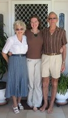 With my grandparents in 2006 - the last time we celebrated a holiday together.