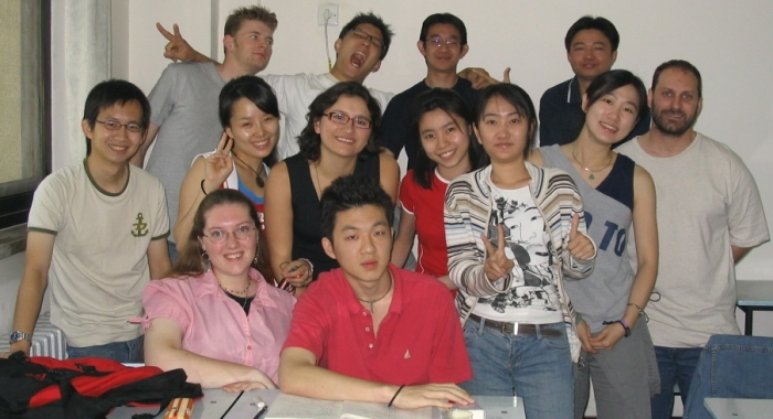 My class at BLCU on my 22nd birthday – June 1st, 2004
