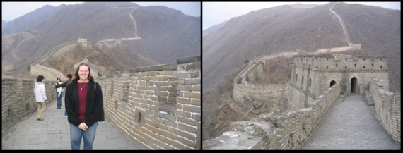 Mutianyu 慕田峪长城, March 2004