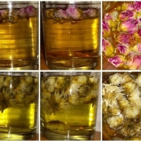 More Chinese teas: scented, flower, herbal