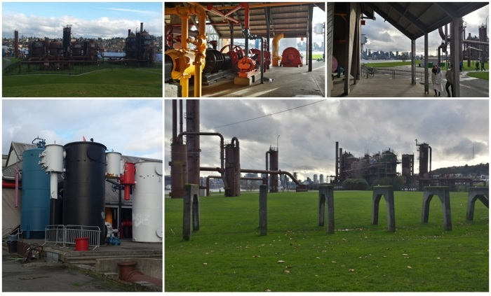 Gas Works Park in Seattle, Washington